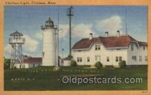 lgh200015 - Chatham light, Chatham, Mass, USA Massachusetts USA, Light House, Houses Lighthouse, LightHouses Postcard Postcards