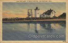 lgh200025 - Long Point light on tip end of Cape Cod Provincetown Mass, USA Massachusetts USA, Light House, Houses Lighthouse, LightHouses Postcard Postcards