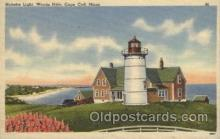 lgh200030 - Nobska light, woods hole, Mass, USA Massachusetts USA, Light House, Houses Lighthouse, LightHouses Postcard Postcards