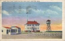 lgh200044 - Race point Coast Guard Station, Race point, Cape Cod, Mass, USA Massachusetts USA, Light House, Houses Lighthouse, LightHouses Postcard Postcards