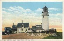 lgh200052 - Highland light, North Truro, Cape Cod, Mass, USA Massachusetts USA, Light House, Houses Lighthouse, LightHouses Postcard Postcards