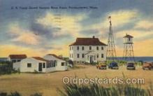 lgh200056 - U.S. Coast Guard Station,Race point, Provincetown, Mass, USA Massachusetts USA, Light House, Houses Lighthouse, LightHouses Postcard Postcards