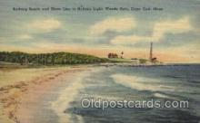 lgh200057 - Nobska light, woods hole, Mass, USA Massachusetts USA, Light House, Houses Lighthouse, LightHouses Postcard Postcards