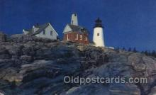 lgh200072 - Massachusetts USA, Light House, Houses Lighthouse, LightHouses Postcard Postcards