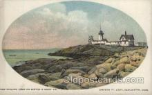 lgh200077 - Eastern P.T. Light, Gloucester, Mass, USA Massachusetts USA, Light House, Houses Lighthouse, LightHouses Postcard Postcards