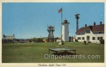 lgh200089 - Chatham light, Cape cod, Mass, USA Massachusetts USA, Light House, Houses Lighthouse, LightHouses Postcard Postcards