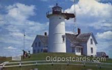 lgh200095 - Nobska light, woods hole, Mass, USA Massachusetts USA, Light House, Houses Lighthouse, LightHouses Postcard Postcards