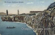 lgh200103 - Europa Lighthouse Gibraltar Postcard Post Cards Old Vintage Antique