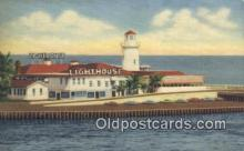 lgh200108 - The Lighthouse Miami Beach, FL, USA Postcard Post Cards Old Vintage Antique