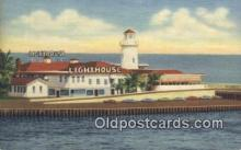 lgh200109 - The Lighthouse Miami Beach, FL, USA Postcard Post Cards Old Vintage Antique