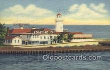lgh200110 - The Lighthouse Miami Beach, FL, USA Postcard Post Cards Old Vintage Antique
