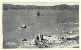 lgh200114 - Lighthouse San Francisco, CA, USA Postcard Post Cards Old Vintage Antique