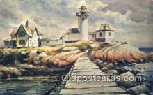 lgh200131 - Seascape Watercolor  Postcard Post Cards Old Vintage Antique