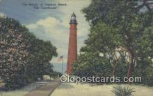 lgh200145 - The Lighthouse Daytona Beach, USA Postcard Post Cards Old Vintage Antique