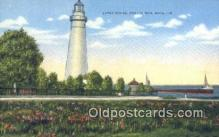 lgh200150 - Light House Port Huron, MI, USA Postcard Post Cards Old Vintage Antique