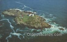 lgh200164 - Cape Neddick The Nubble Light York, ME, USA Postcard Post Cards Old Vintage Antique