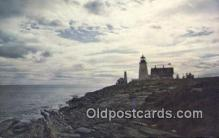 lgh200169 - Pemaquid Light Pemaquid, ME, USA Postcard Post Cards Old Vintage Antique