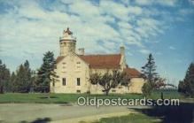 lgh200177 - Michilimackinac State Park Mackinaw City, MI, USA Postcard Post Cards Old Vintage Antique