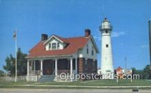 lgh200179 - US Coast Guard Station Munising, MI, USA Postcard Post Cards Old Vintage Antique