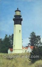 lgh200196 - Westport Lighthouse Westport, Washington, USA Postcard Post Cards Old Vintage Antique