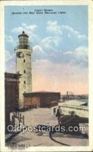 lgh200207 - Light House Havana, Cuba Postcard Post Cards Old Vintage Antique