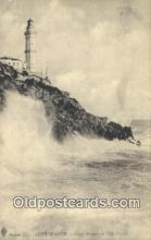 lgh200208 - Coup de mer au Cap Ferral, France Light House Cote D'Azur Postcard Post Cards Old Vintage Antique