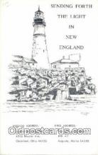 lgh200209 - New England Postcard Post Cards Old Vintage Antique