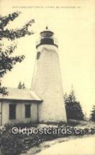 lgh200217 - Dice's Head Light Station Castine, ME, USA Postcard Post Cards Old Vintage Antique