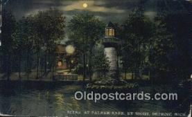 lgh200226 - Palmer Park Detroit, MI, USA Postcard Post Cards Old Vintage Antique