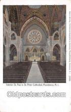 Interior of St Paul & St Peter Cathedral
