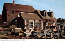 lob001049 - Typical Maine Lobster Fisherman's Shack  Postcard Post Card
