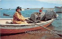lob001060 - Lobsterman Fisherman Cape Cod, Massachusetts Postcard Post Card