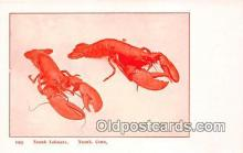 lob001073 - Noank Lobsters Noank, Conn Postcard Post Card