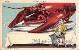 lob001081 - Dinnertime Maine Postcard Post Card