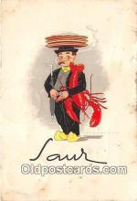 lob001092 - Restaurant Saur Den Haag Postcard Post Card