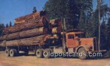log001075 - Paul Bunyans Toothpicks  Postcard Post Cards Old Vintage Antique