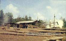log001078 - Southern Sawmill  Postcard Post Cards Old Vintage Antique
