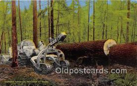 Modern Logging Tractor
