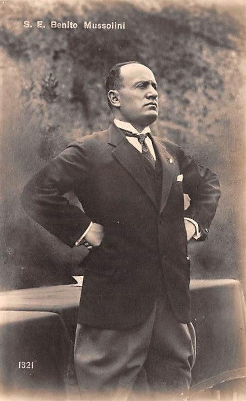 benito mussolini and the national fascist party National fascist party (1921–1943) italian fasci of combat (1919–1921) fasci of revolutionary action benito mussolini was named after benito juarez.