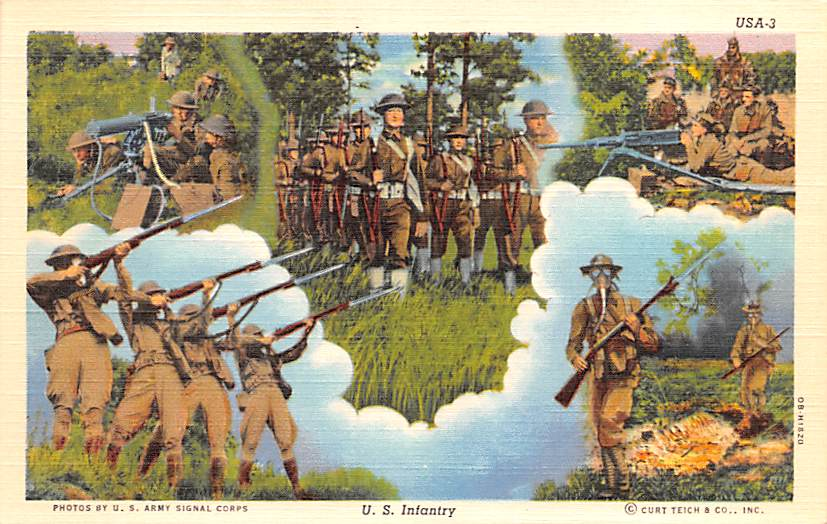 Military Postcards - Old Military Army, Navy, Marines, Post Cards