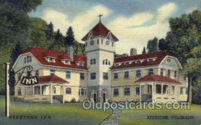 MTL001010 - Redstone Inn, Redstone, CO Hotel, Motel Postcard Postcards