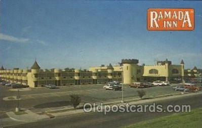 MTL001082 - Ramada Inn, Amarillo, Texas, USA Motel Hotel Postcard Postcards