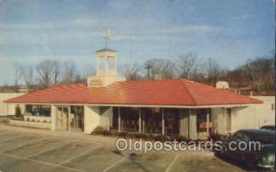 MTL001117 - Howard Johnson's, USA Motel Hotel Postcard Postcards