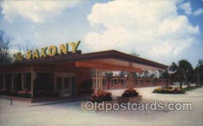 MTL001125 - The Saxony, New Orleans, USA Motel Hotel Postcard Postcards