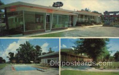 MTL001142 - Old South Manor, Savannah, Georga, Ga, USA Motel Hotel Postcard Postcards