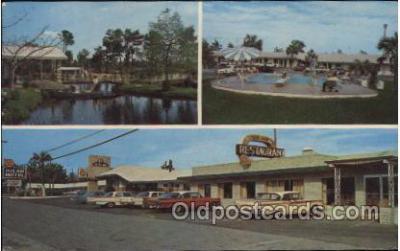 MTL001157 - Bon-Air Motel, Jesup, Georgia, USA Motel Hotel Postcard Postcards
