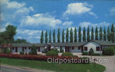 MTL001173 - Knox Villa Motel, Knoxville, ILL,  USA Motel Hotel Postcard Postcards
