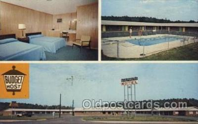 MTL001178 - Shepherd Motel, Calhoun, Georgia, USA Motel Hotel Postcard Postcards