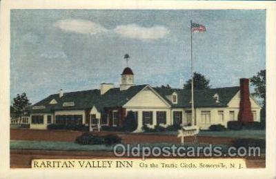 MTL001187 - Raritan Valley Inn, Somerville, New Jersey, USA Motel Hotel Postcard Postcards