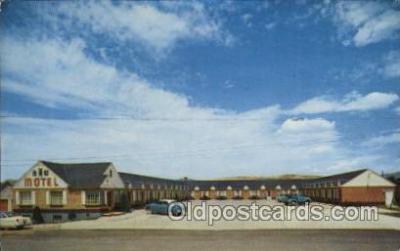 MTL001196 - New Motel, Evanston, Wyoming, Wyo, USA Motel Hotel Postcard Postcards
